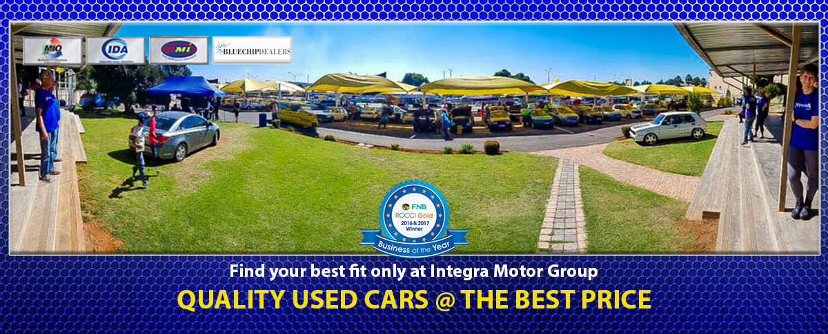 Quality Used Cars Integra Home Banner